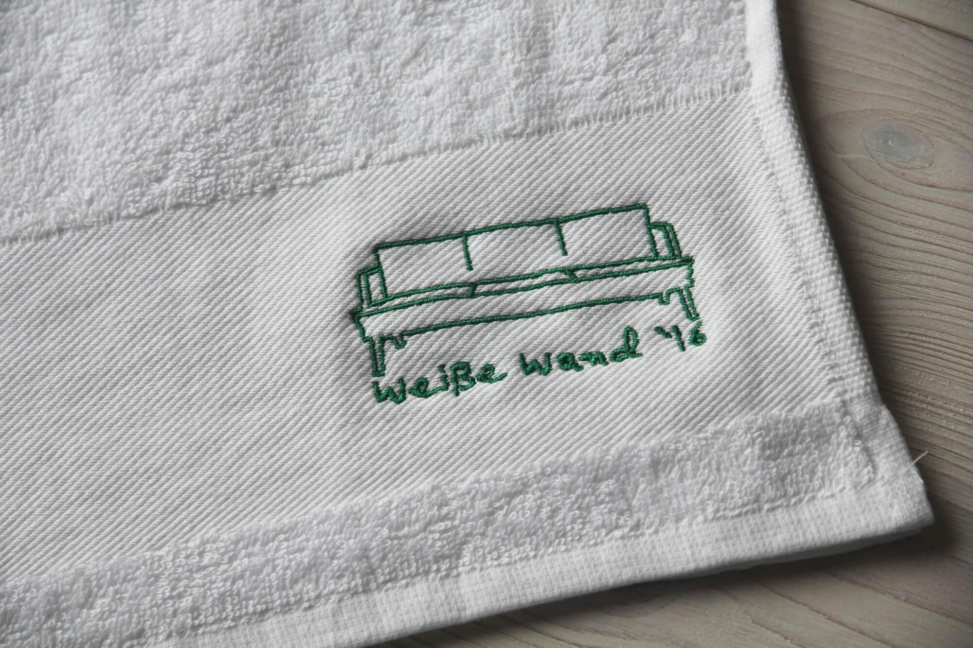 mÜtzeria plus: weißes tuch für weiße wand - mÜtzeria - mach dir