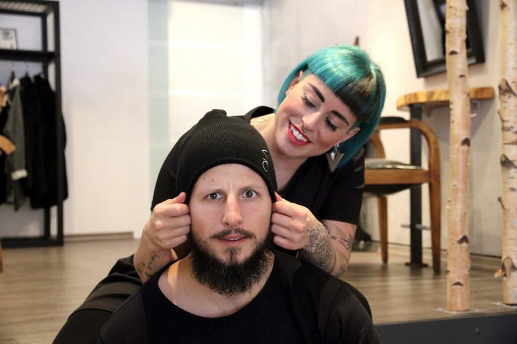 Ola und Max mit MÜTZERIA-Mütze
