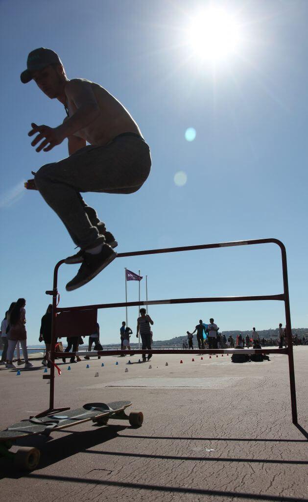 Jumpin' outta the sun