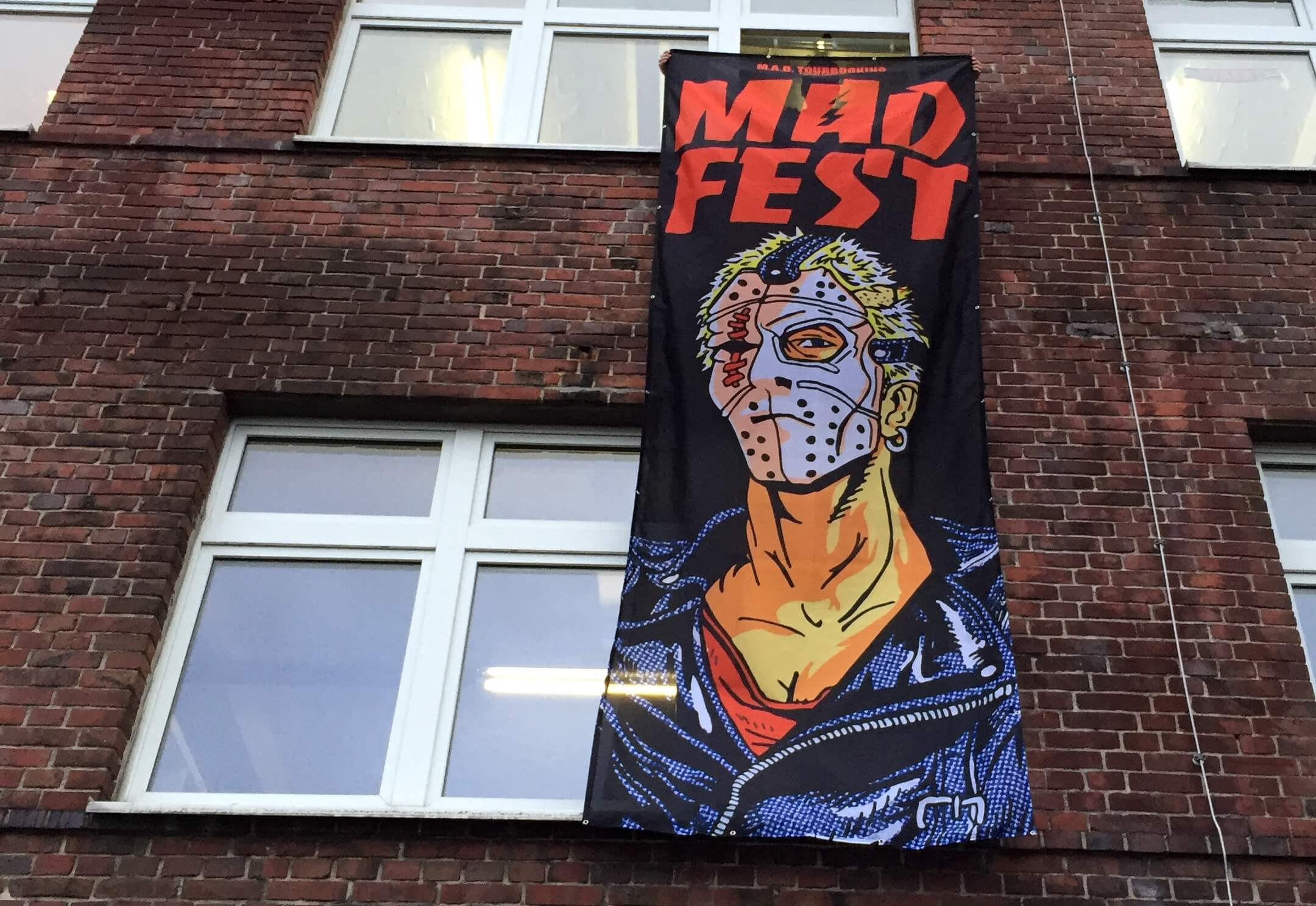 Banner MAD FEST