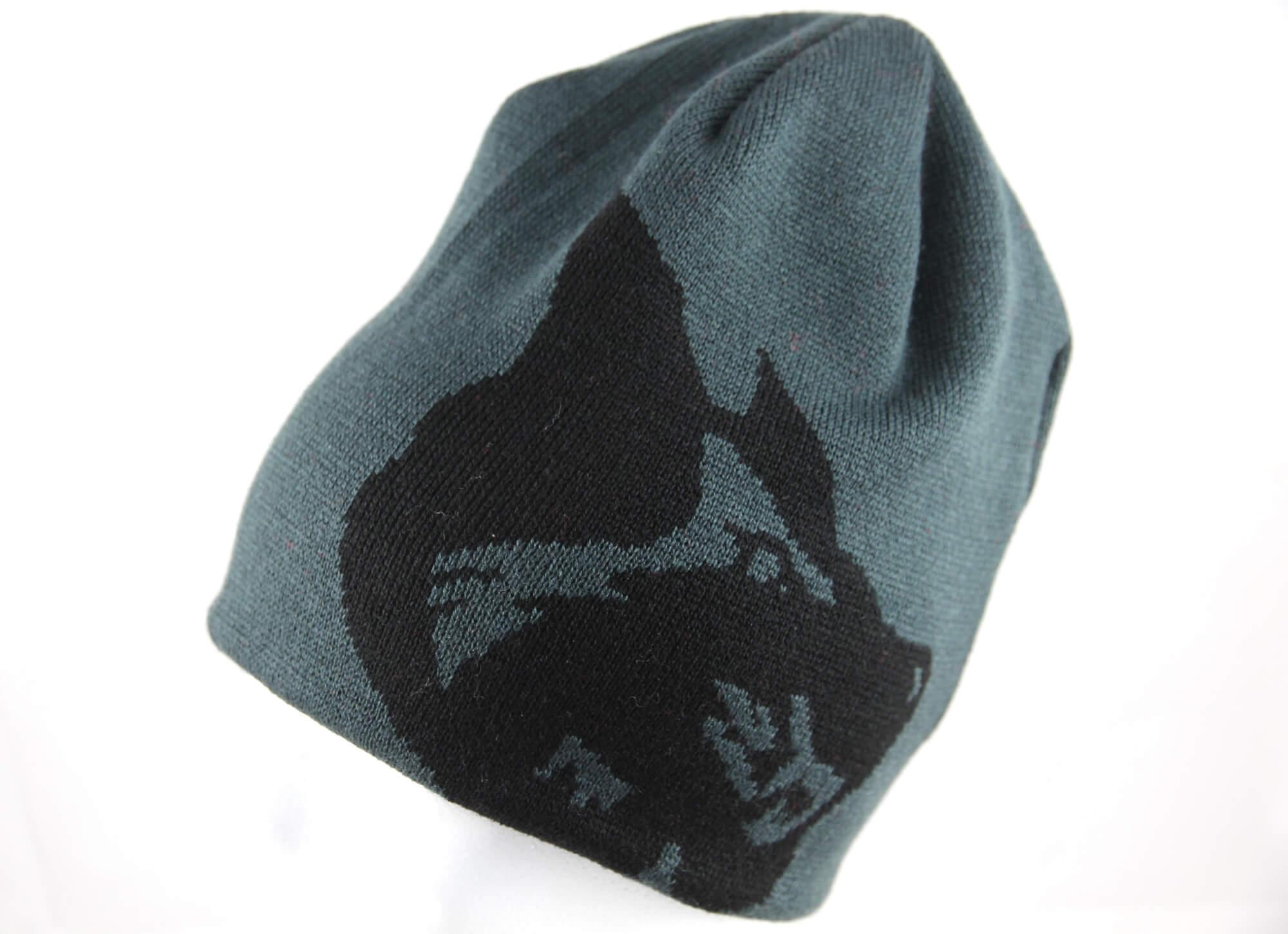 Beanie mit Logo Selber Wölfe