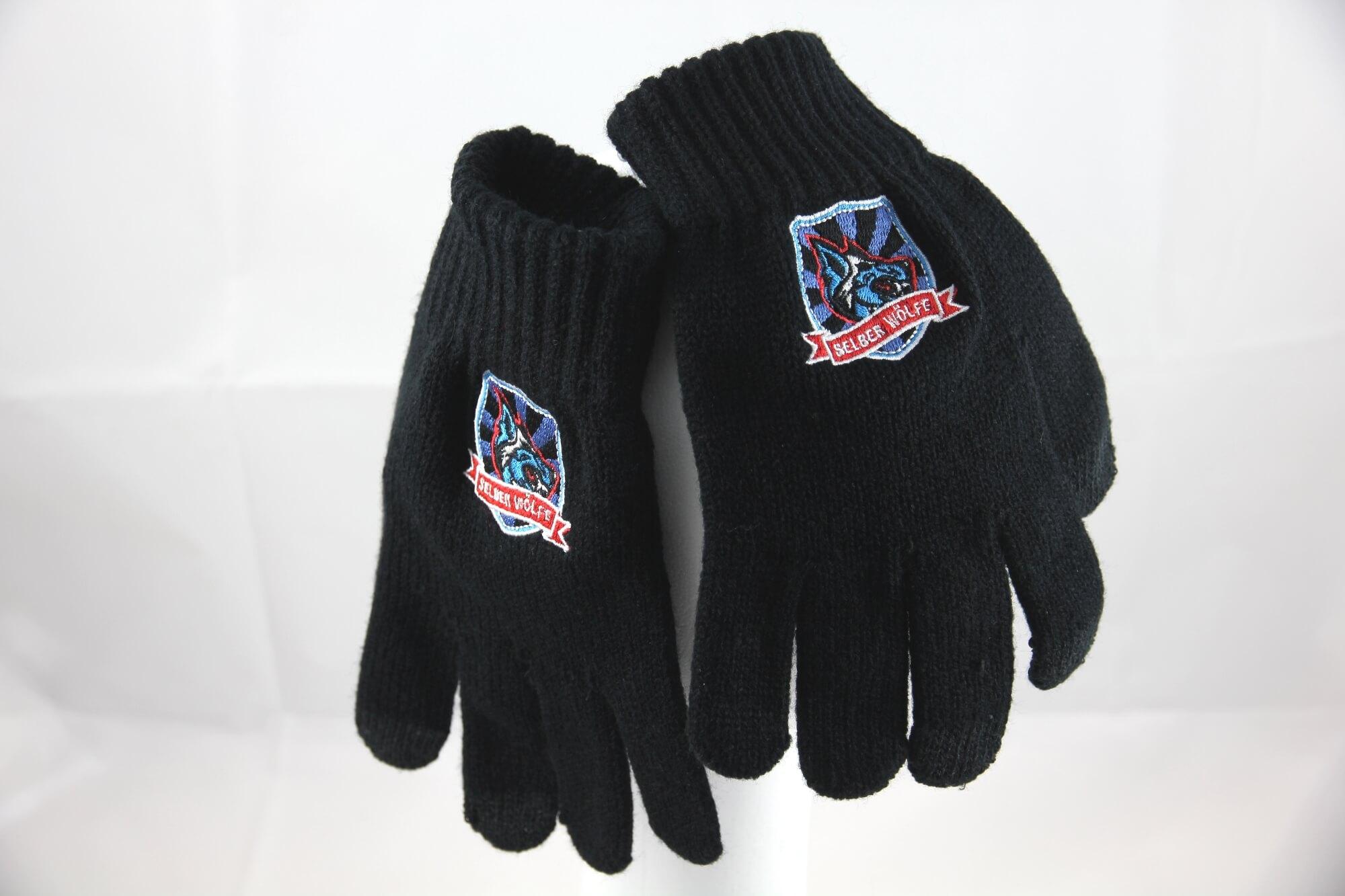 Handschuhe bestickt Eishockey