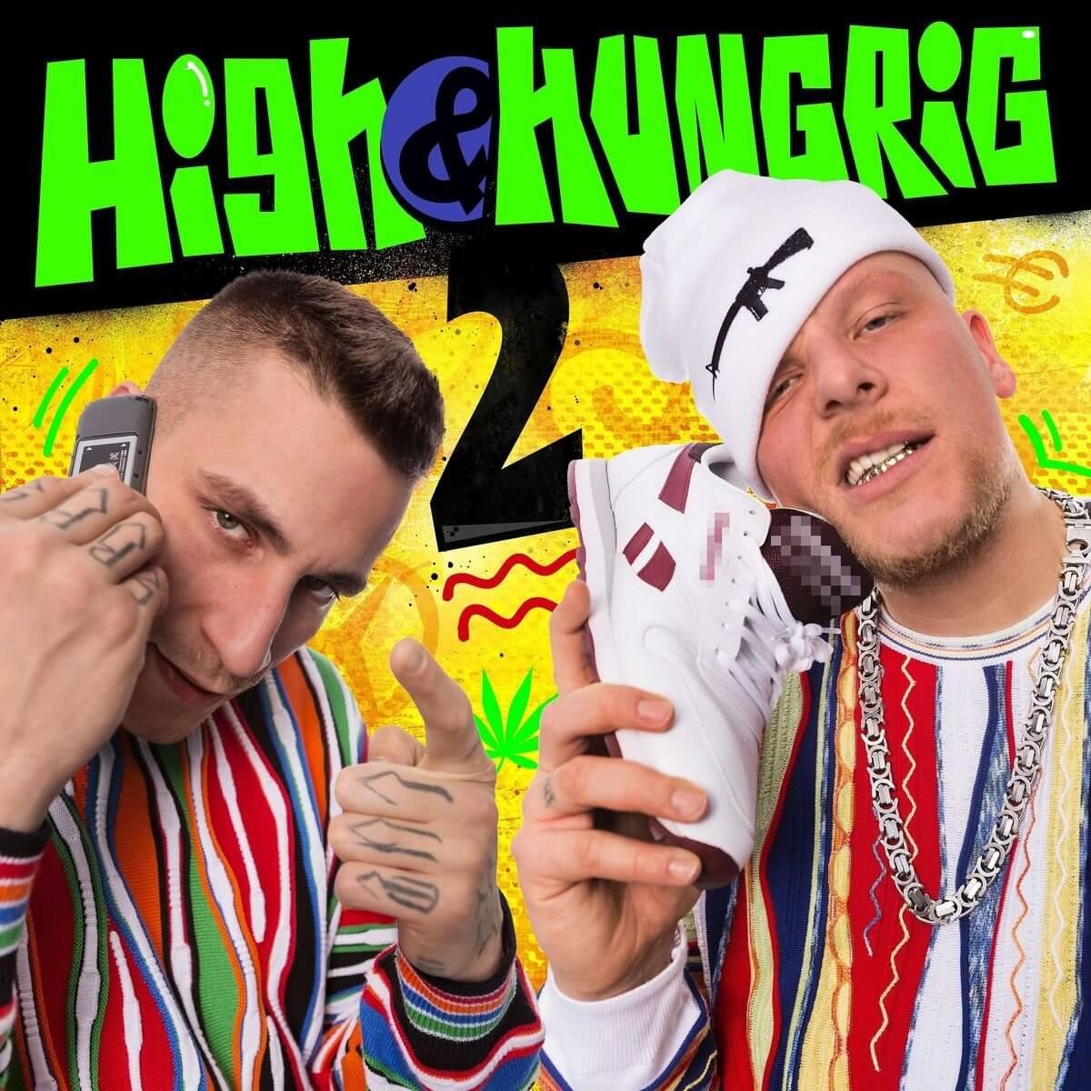 Kopfmacher auf dem Cover <br>Hip-Hop-Head mit Gun-Beanie