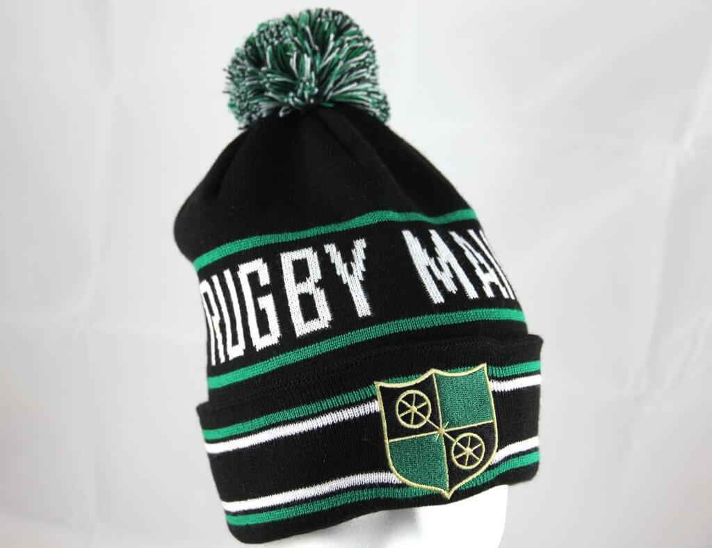 Pudelmütze für Rugby-Team
