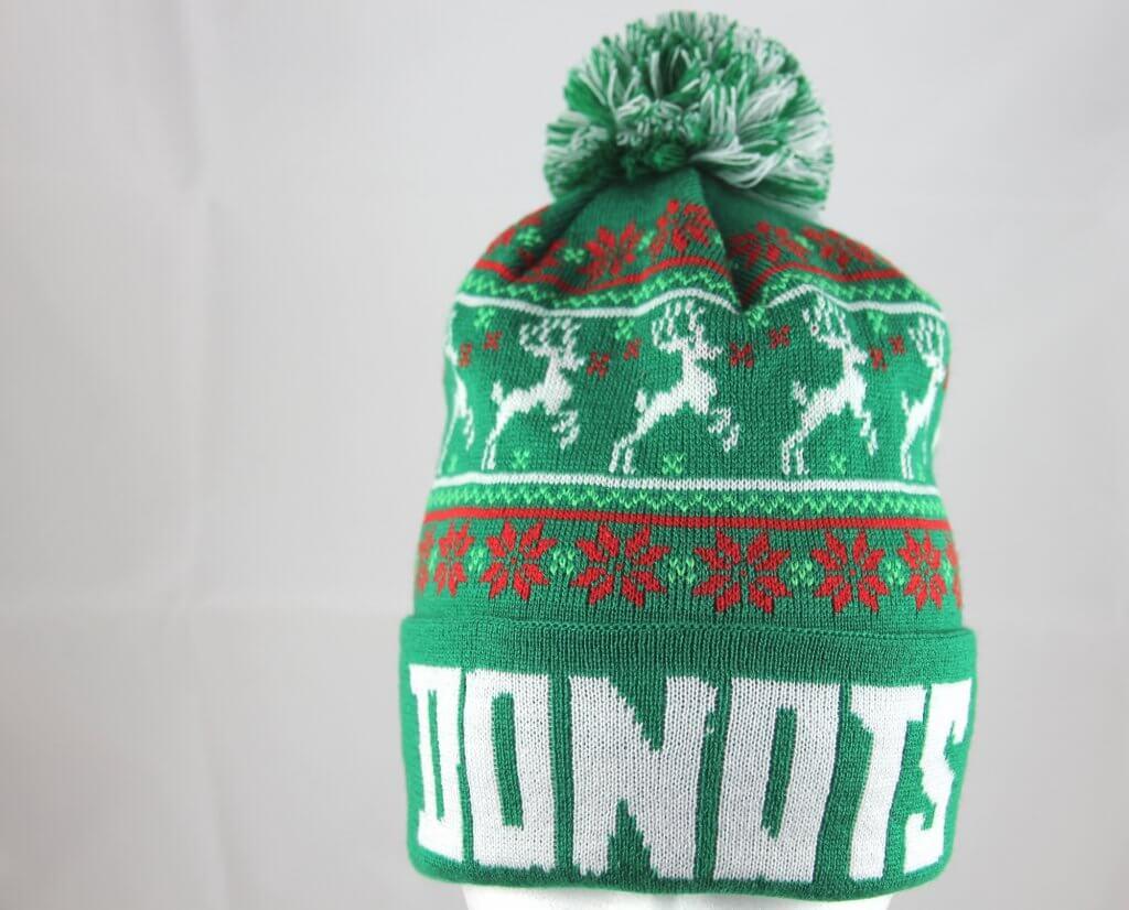 Donots-Weihnachtsmütze