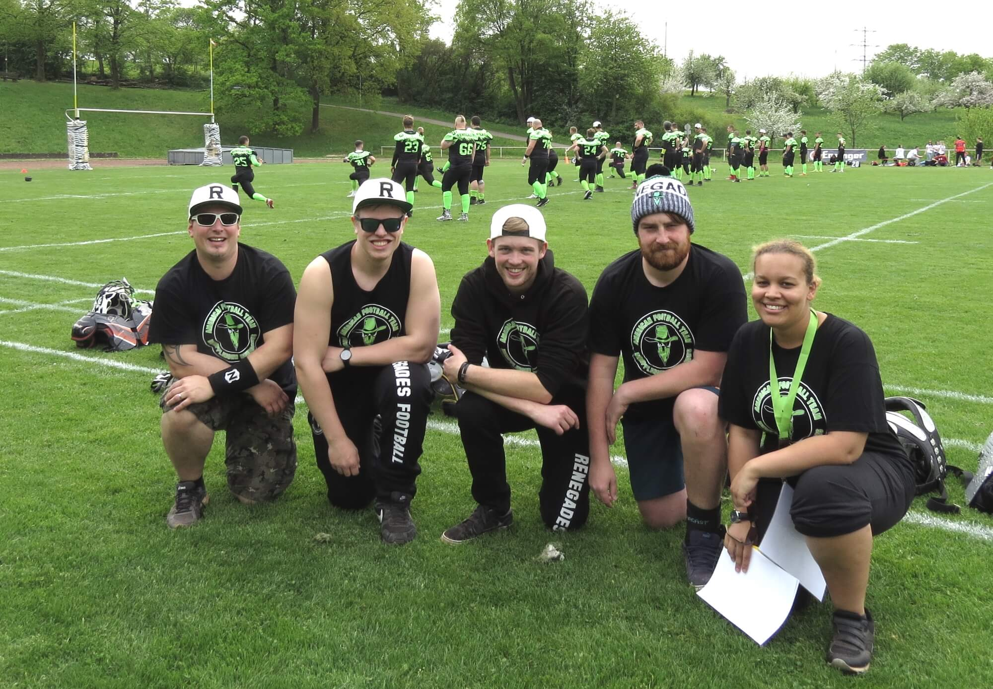 American Football Kollektion <br>Teamwear für junge Mannschaft