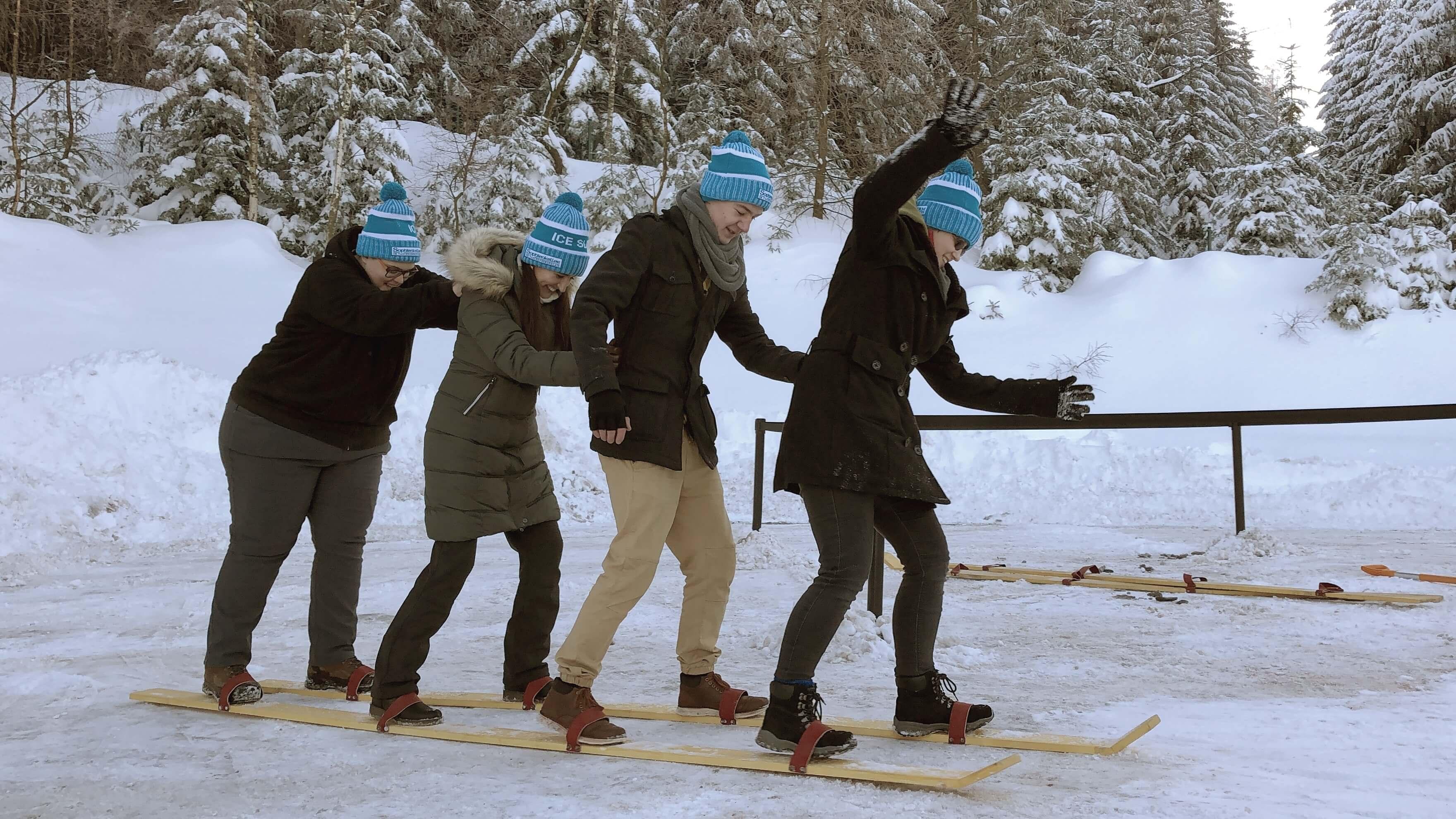 Wintersport Mützen für Mannschaften