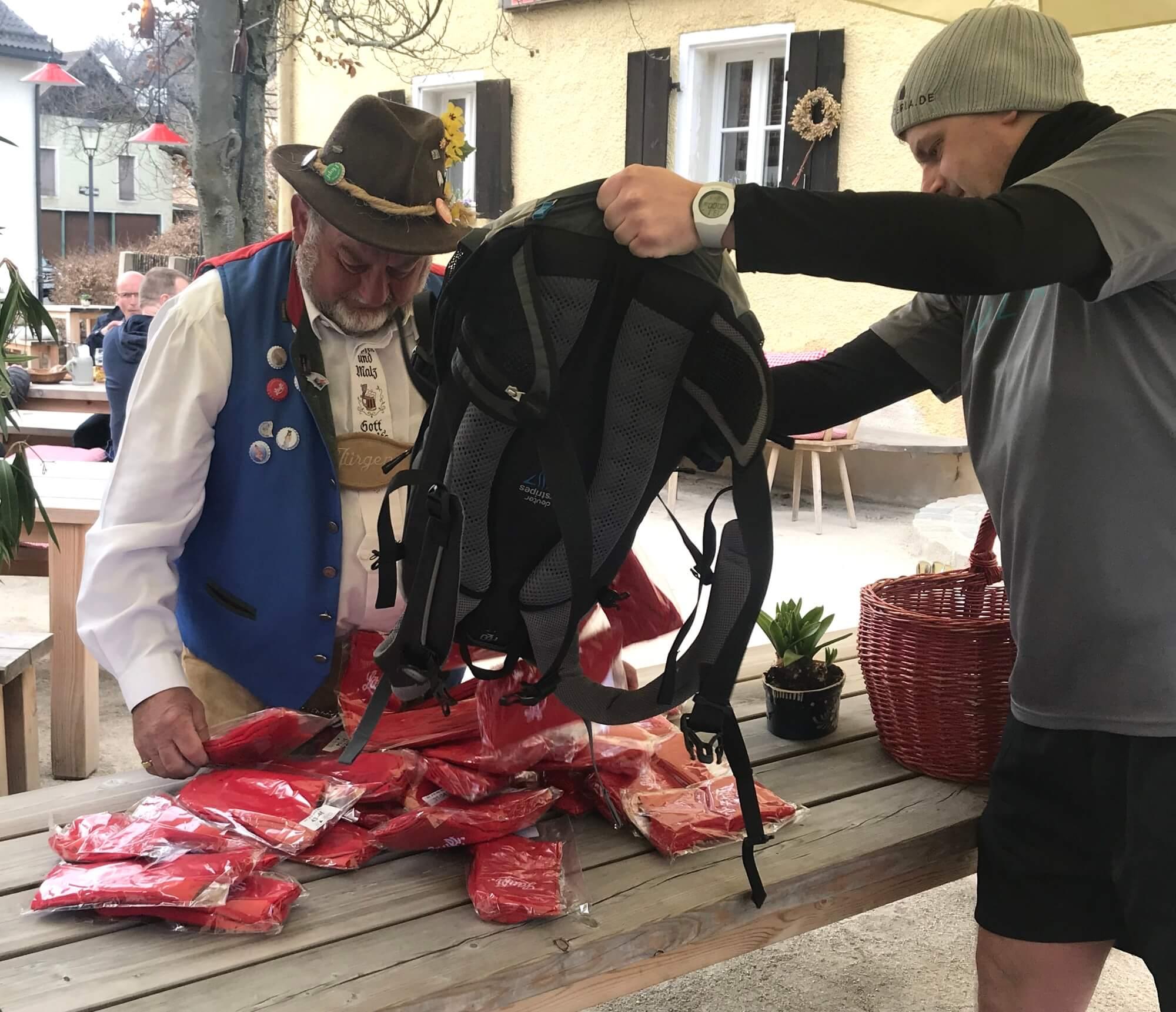 MÜTZERIA Marathon Socken Lieferung