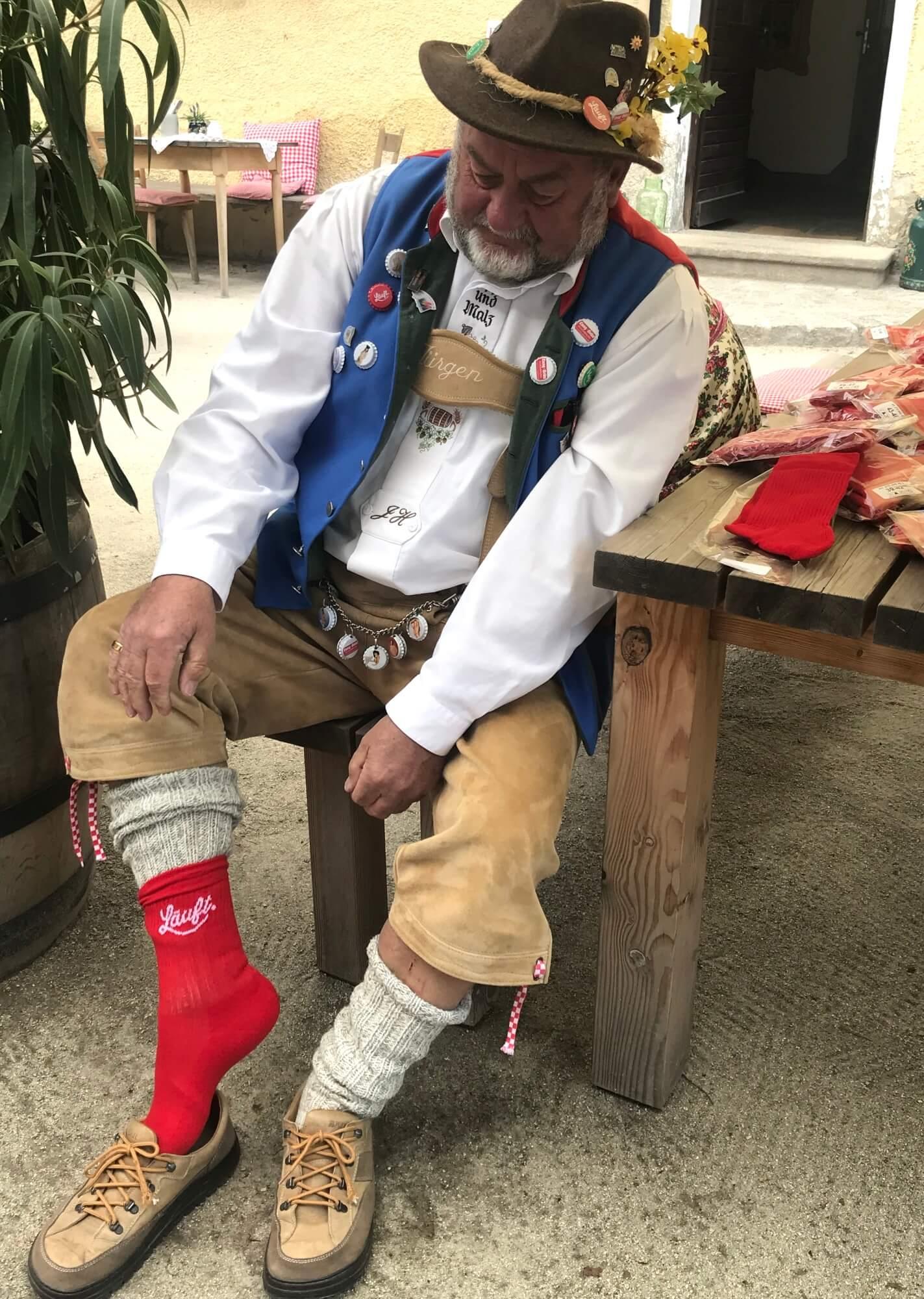 MÜTZERIA Marathon Socken Chef