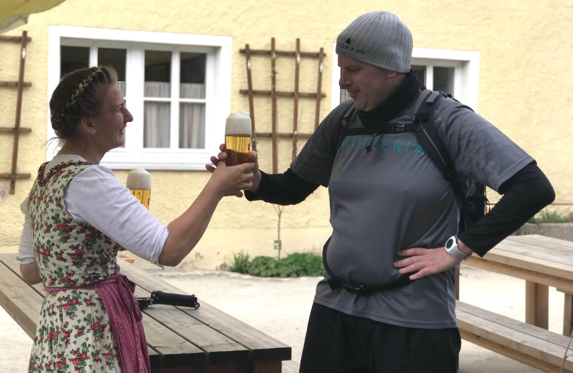MÜTZERIA Marathon Bier für Götz