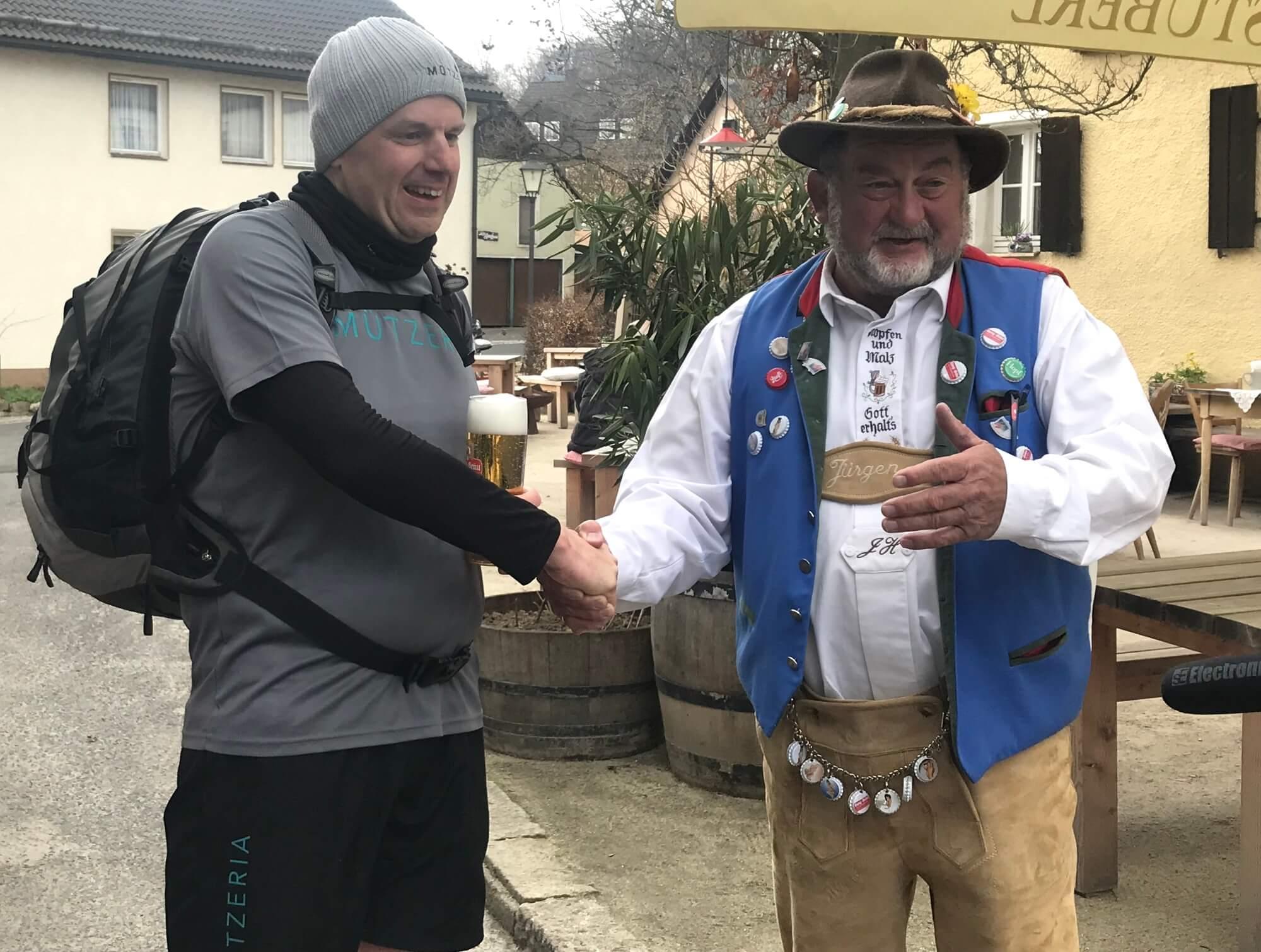 MÜTZERIA Marathon Bräu mit Götz