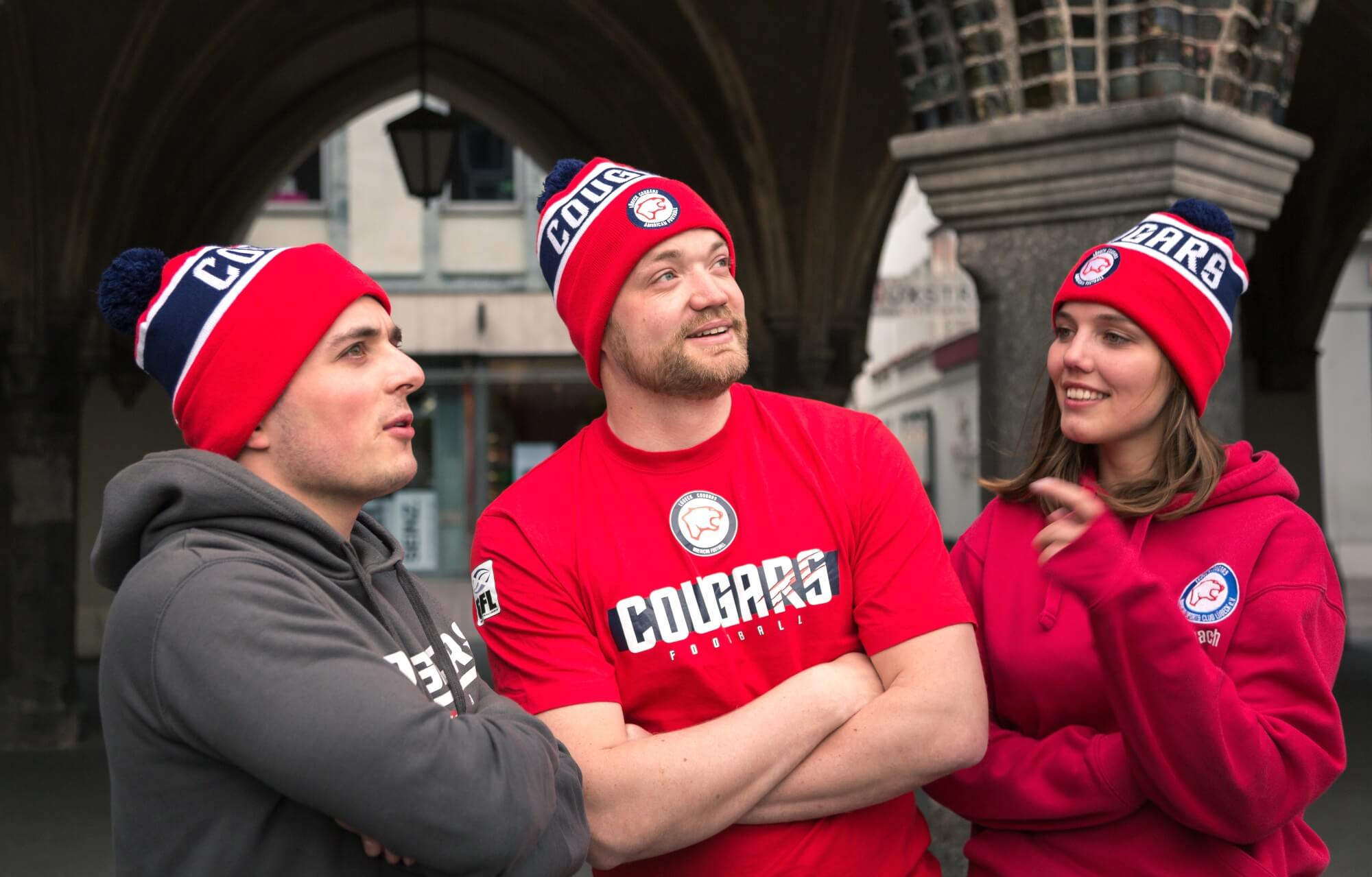 American Football in Lübeck <br>Die Pumas tragen Pudelmützen