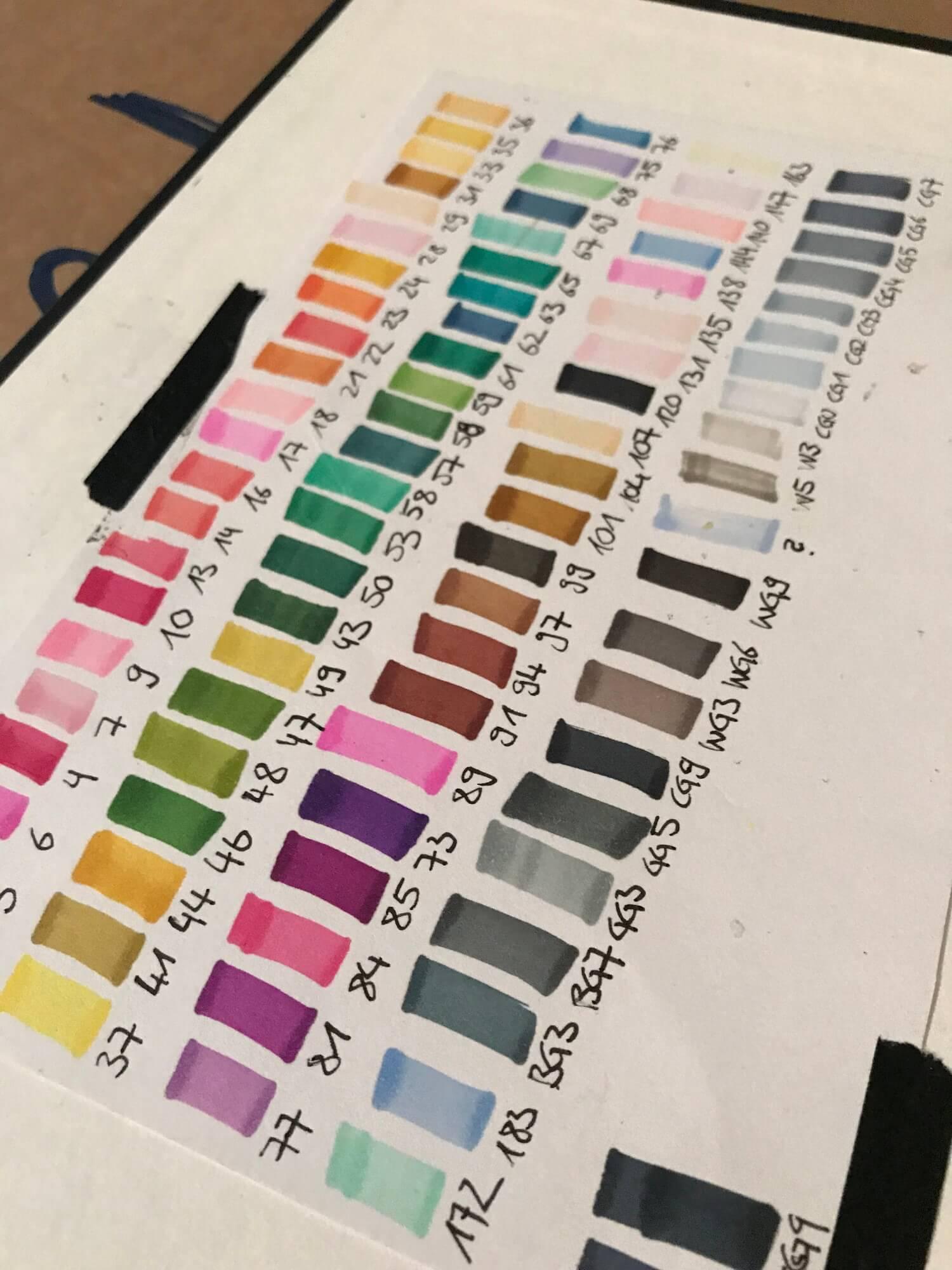 Farben Farbpalette
