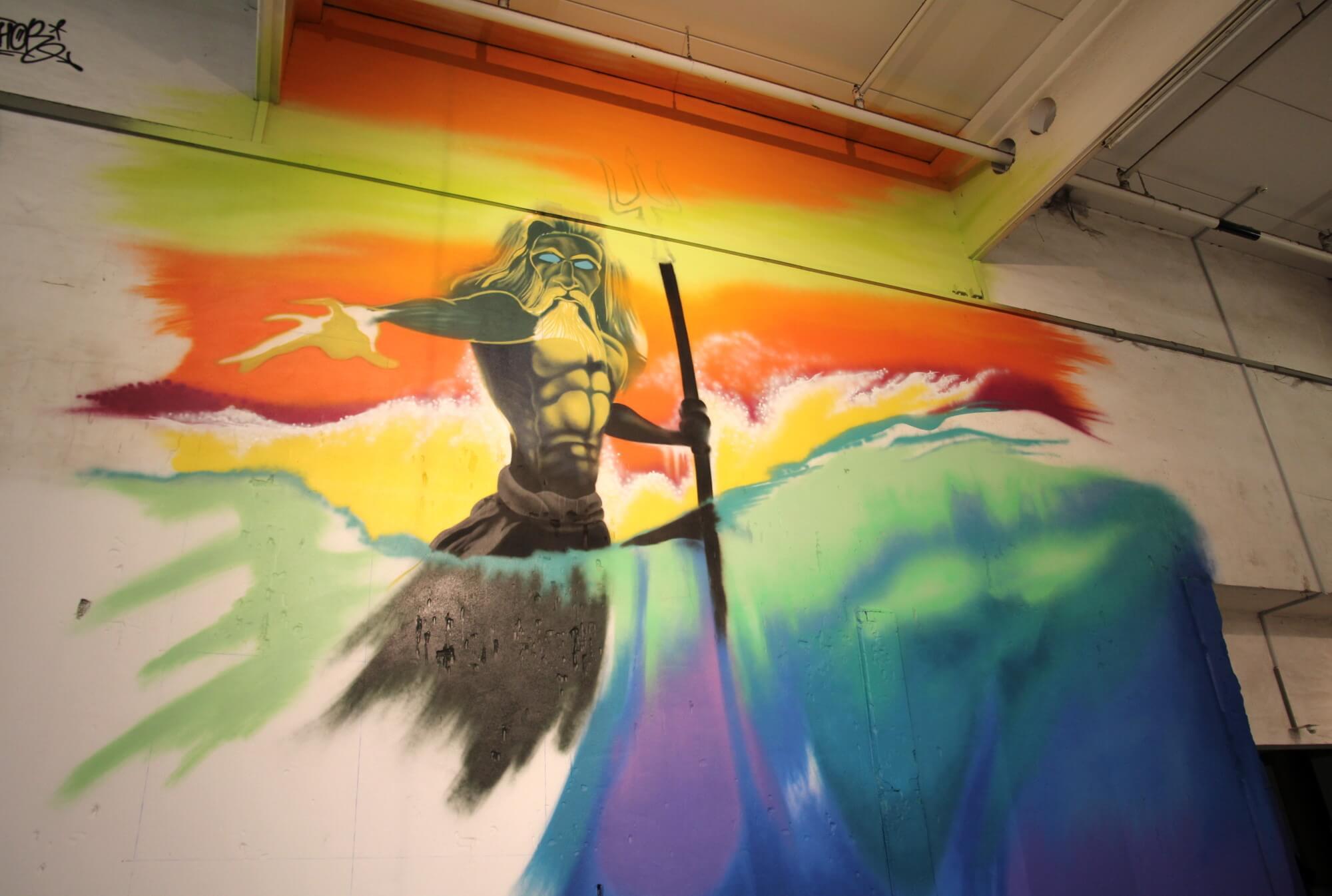 HOFTEXPLOSION Graffiti Neptun