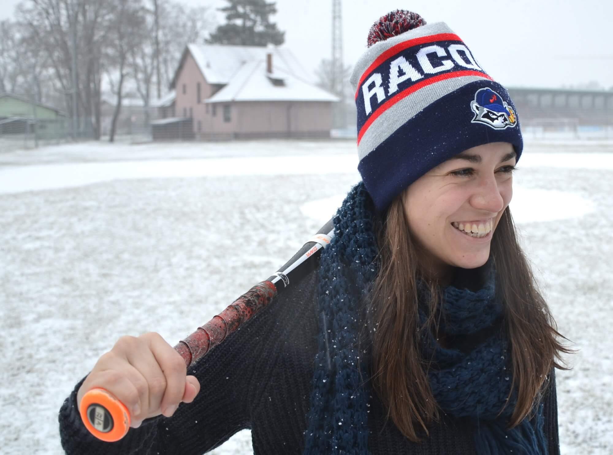 Softball in Österreich <br>Ein Satz warme Waschbär-Ohren