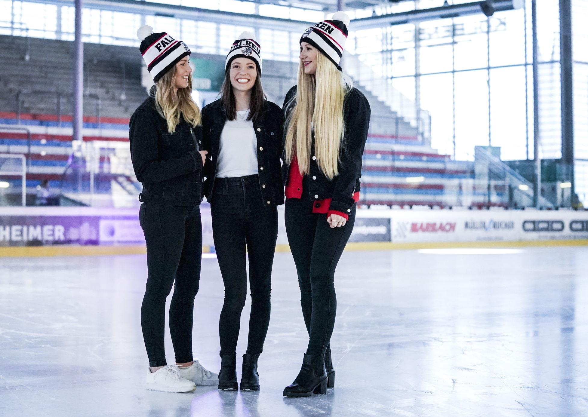 Spielerfrauen Mützen Eishockey