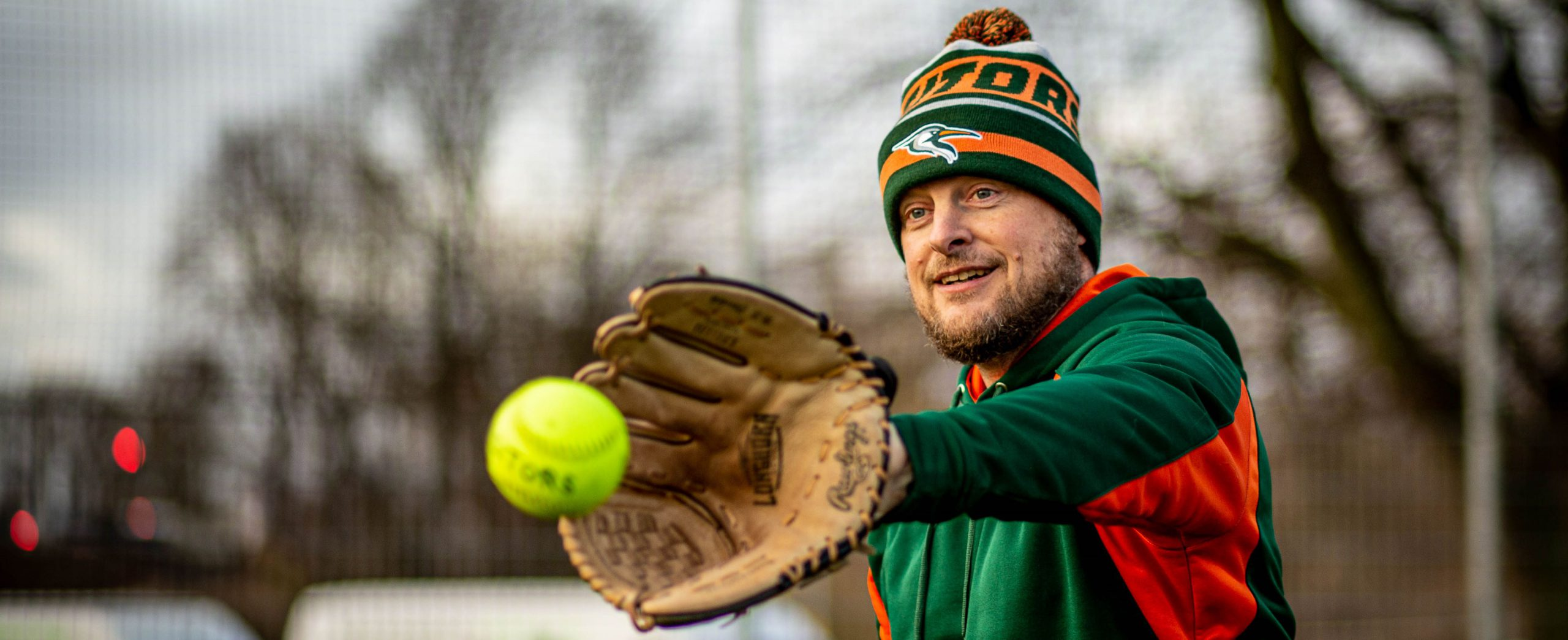 Mütze Softball Kopf