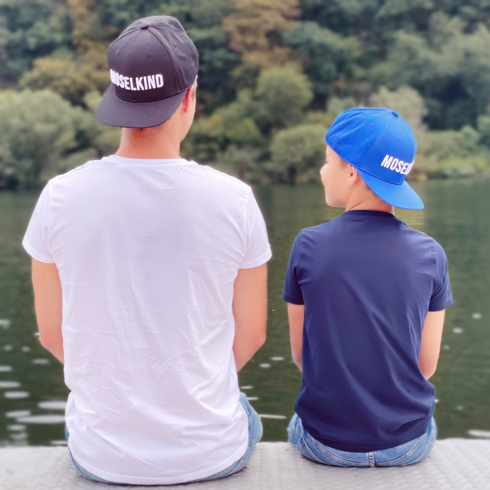 Caps MOSELKIND schwarz und blau