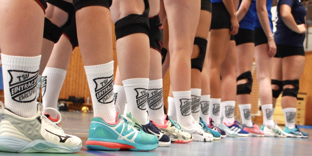 Teamsocken Volleyballmannschaft
