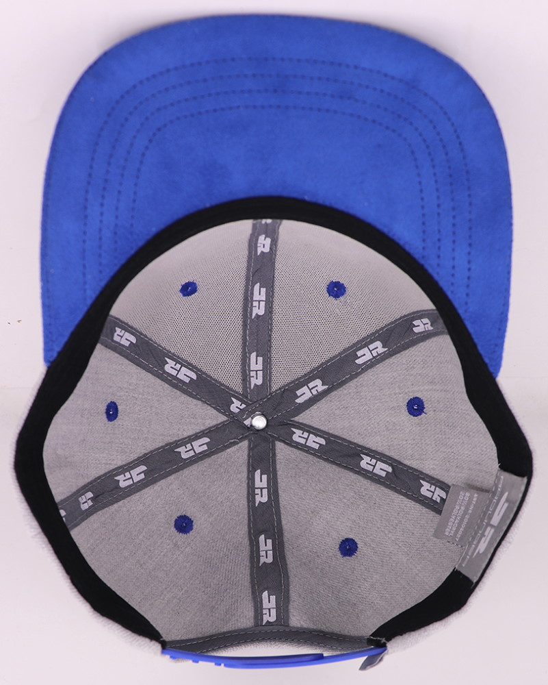 5-Panel Snapback-Cap mit blauem Schirm, Closer und Luftlöchern