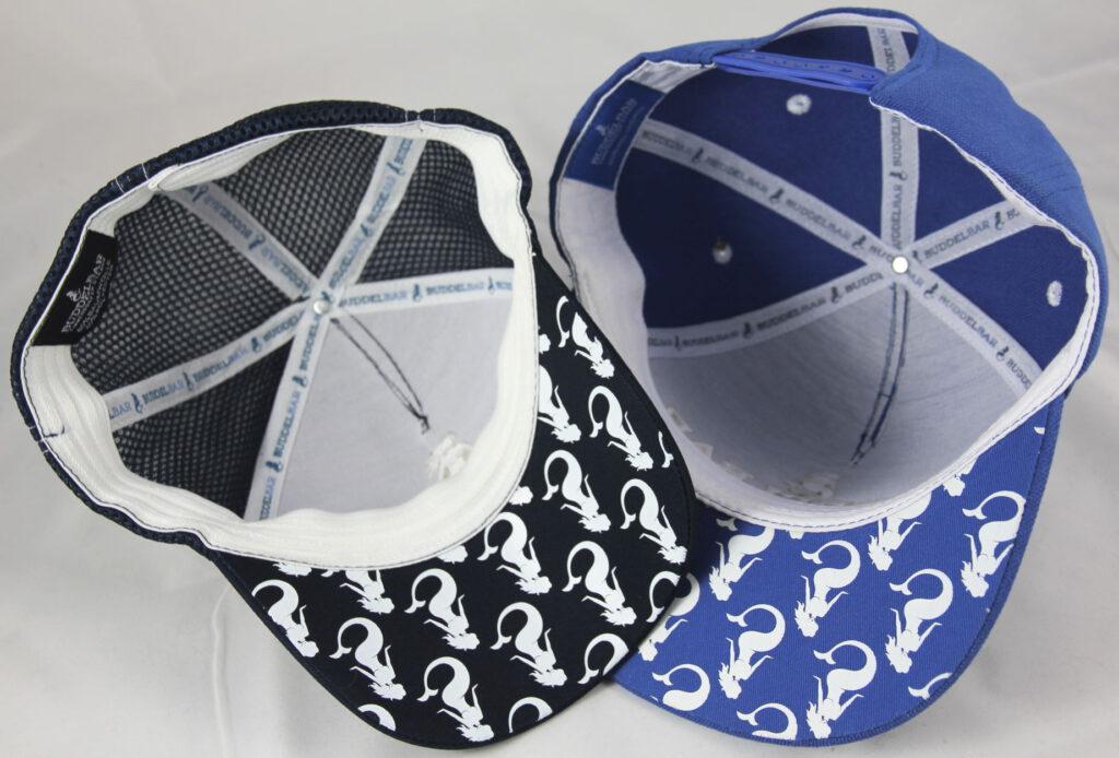 Bedruckte Schirme Caps Buddelbar