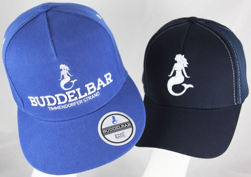 Snapback und Basecap Buddelbar